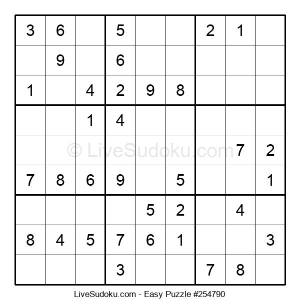 Beginners Puzzle #254790