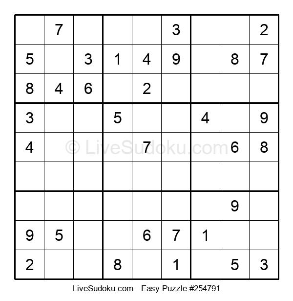 Beginners Puzzle #254791