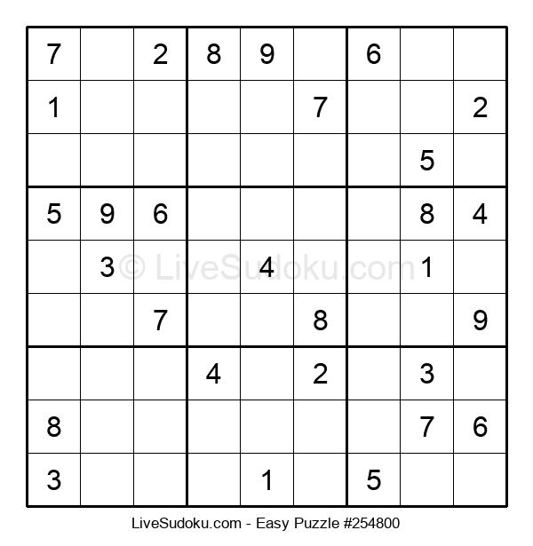 Beginners Puzzle #254800