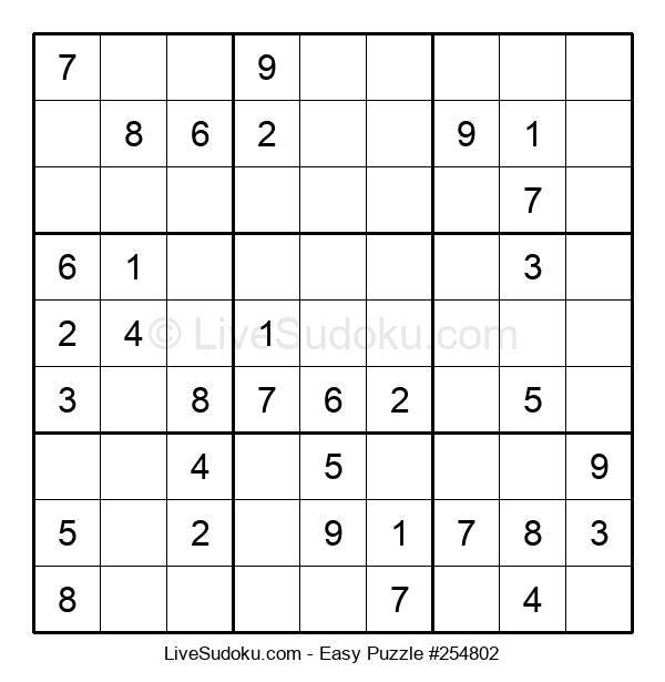 Beginners Puzzle #254802