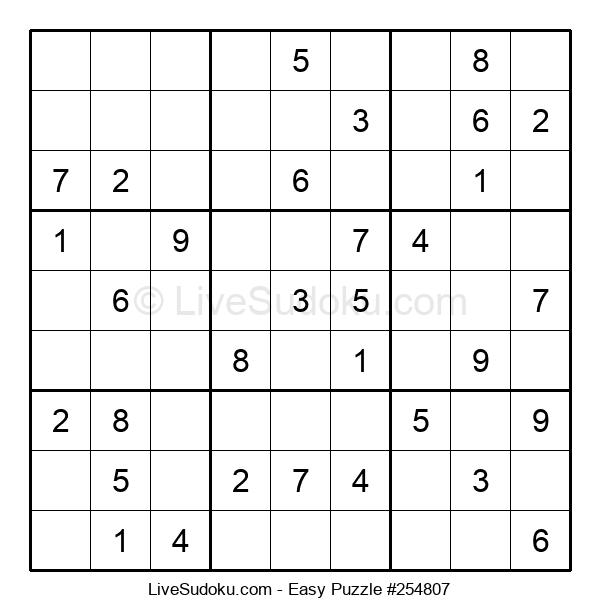 Beginners Puzzle #254807