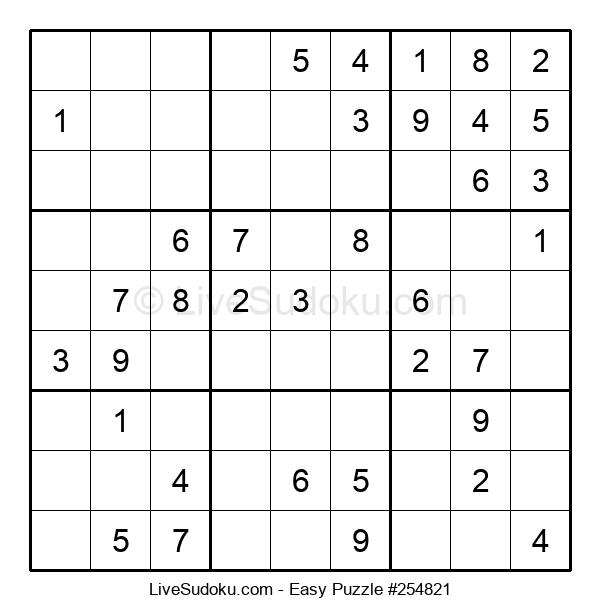 Beginners Puzzle #254821