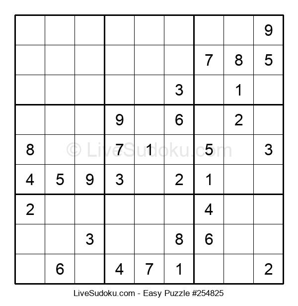 Beginners Puzzle #254825
