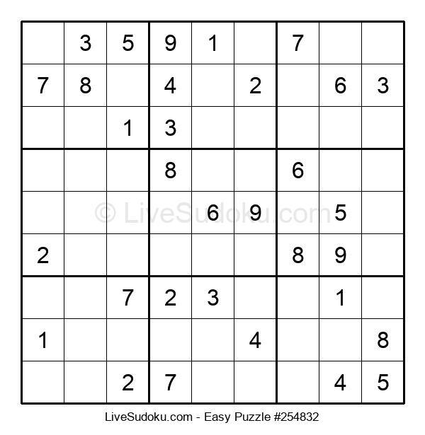 Beginners Puzzle #254832