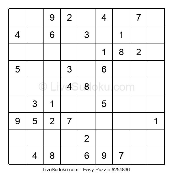 Beginners Puzzle #254836