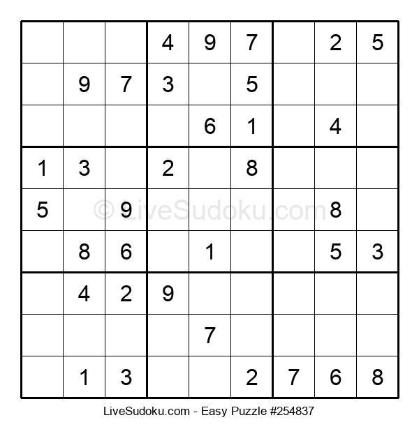 Beginners Puzzle #254837