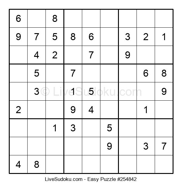 Beginners Puzzle #254842