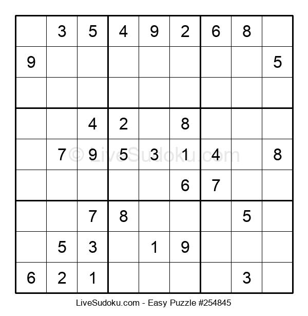 Beginners Puzzle #254845