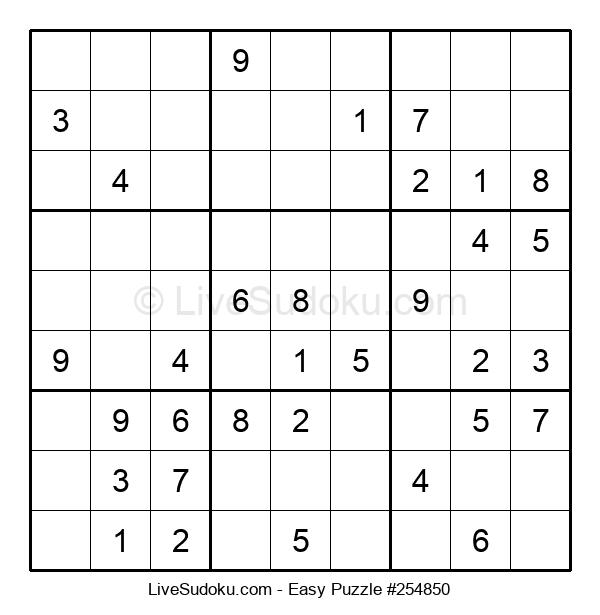 Beginners Puzzle #254850