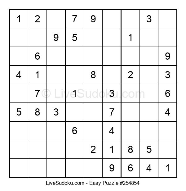 Beginners Puzzle #254854