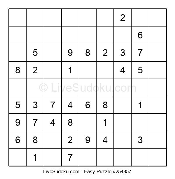 Beginners Puzzle #254857