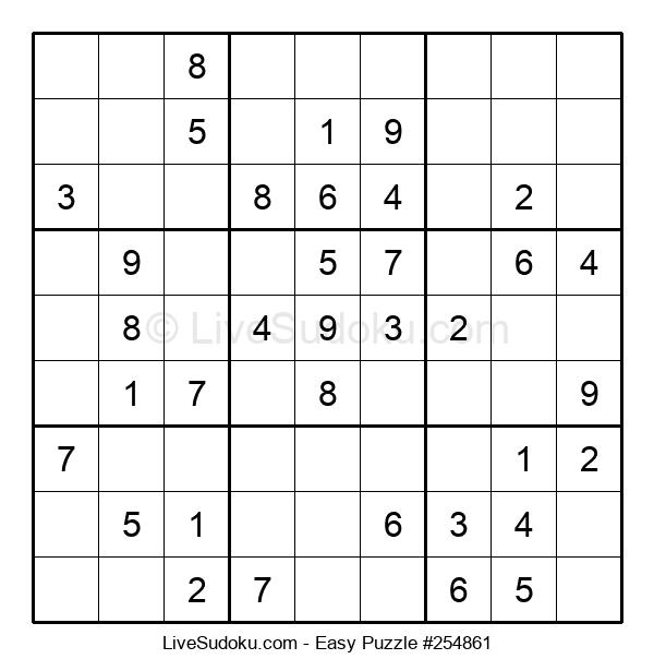 Beginners Puzzle #254861