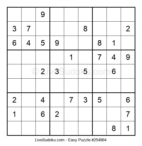 Beginners Puzzle #254864