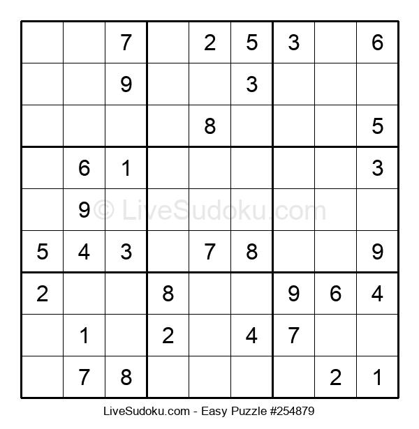 Beginners Puzzle #254879