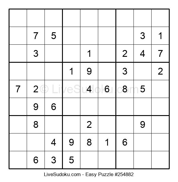 Beginners Puzzle #254882