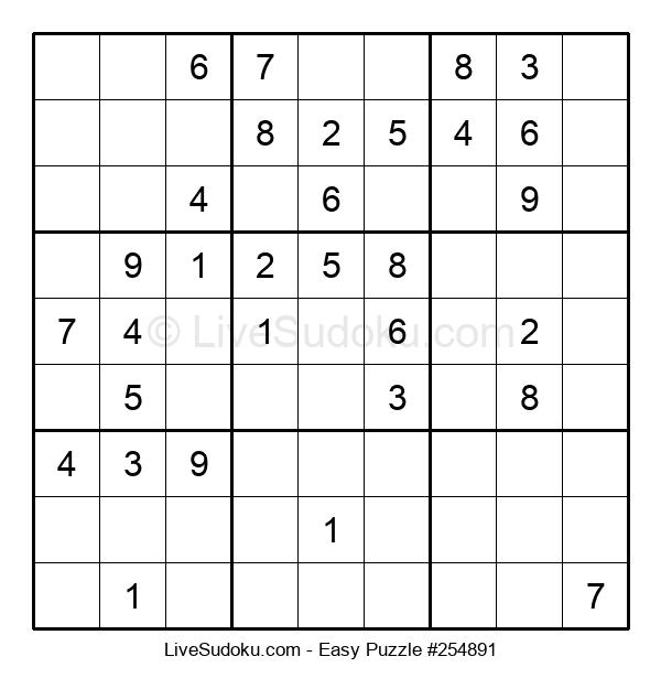 Beginners Puzzle #254891