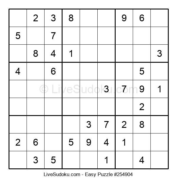 Beginners Puzzle #254904