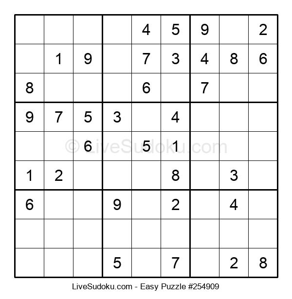 Beginners Puzzle #254909