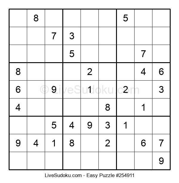 Beginners Puzzle #254911