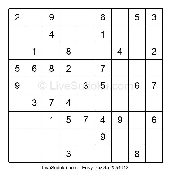 Beginners Puzzle #254912