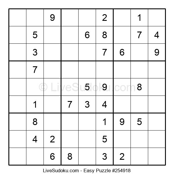 Beginners Puzzle #254918