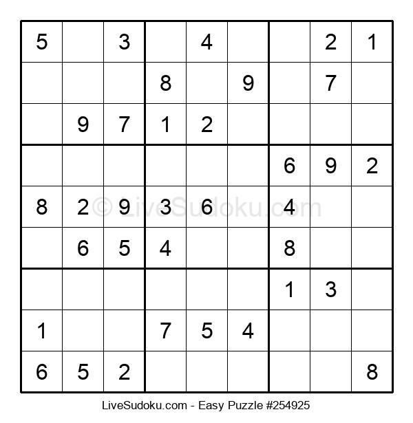 Beginners Puzzle #254925