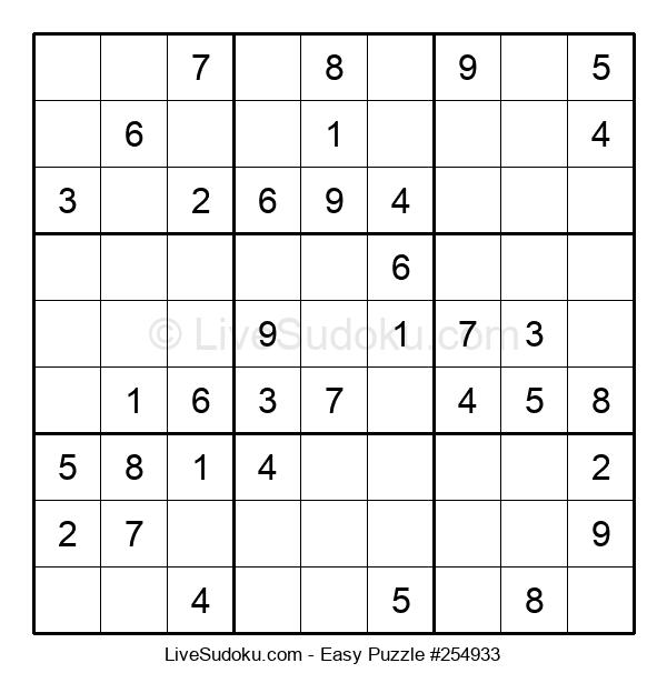 Beginners Puzzle #254933
