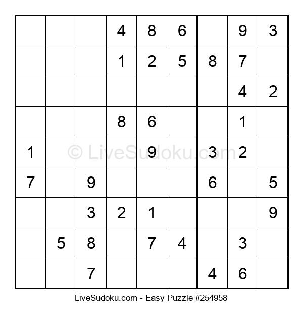 Beginners Puzzle #254958