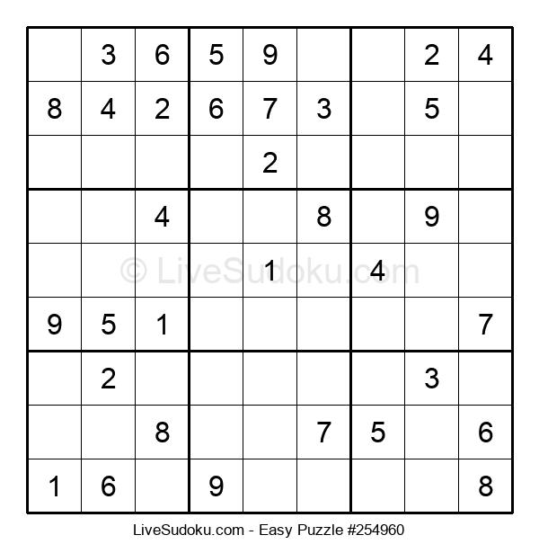 Beginners Puzzle #254960