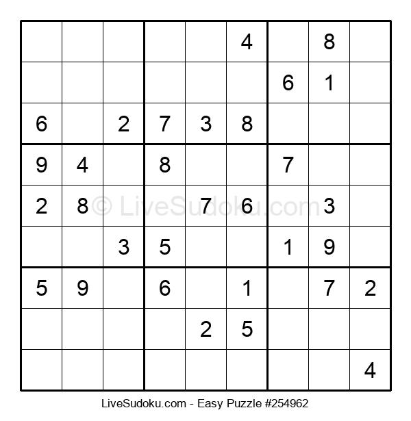 Beginners Puzzle #254962