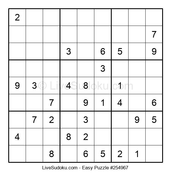 Beginners Puzzle #254967