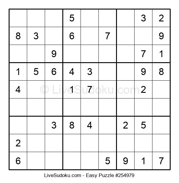 Beginners Puzzle #254979