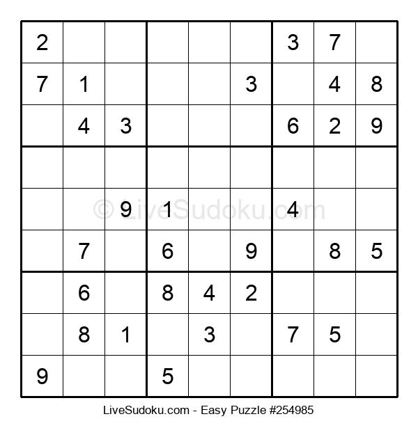 Beginners Puzzle #254985