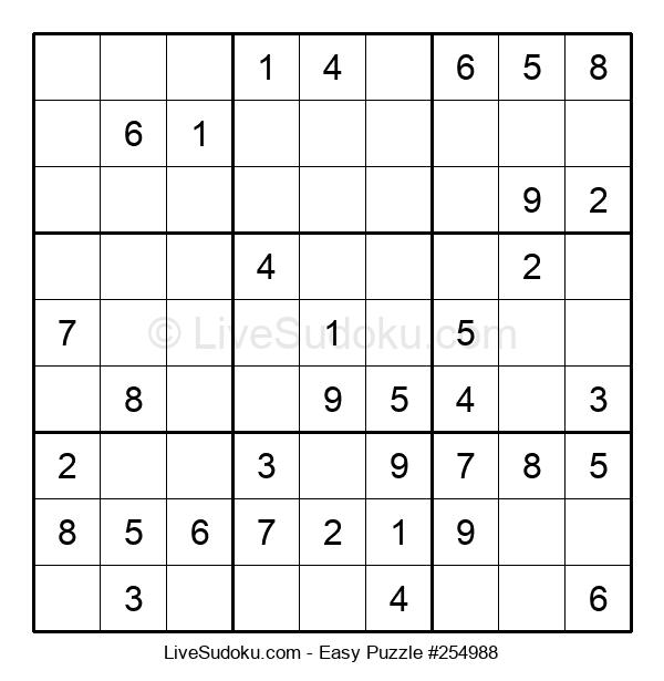 Beginners Puzzle #254988