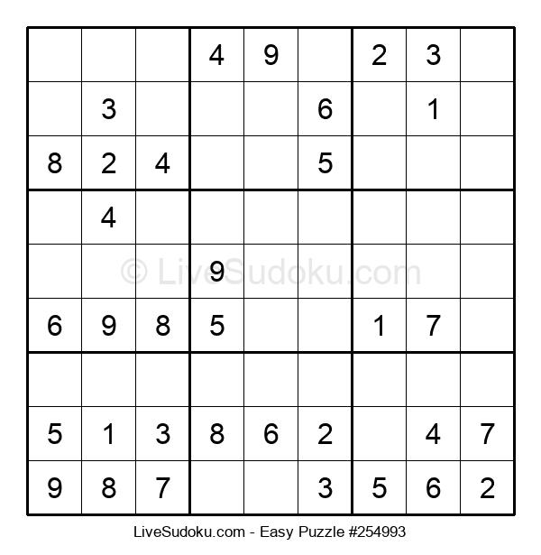 Beginners Puzzle #254993