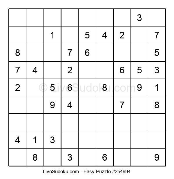 Beginners Puzzle #254994