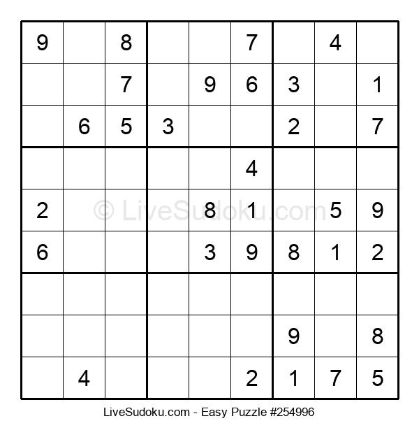 Beginners Puzzle #254996