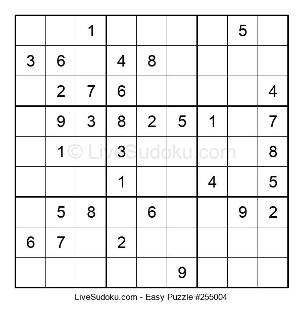 Beginners Puzzle #255004