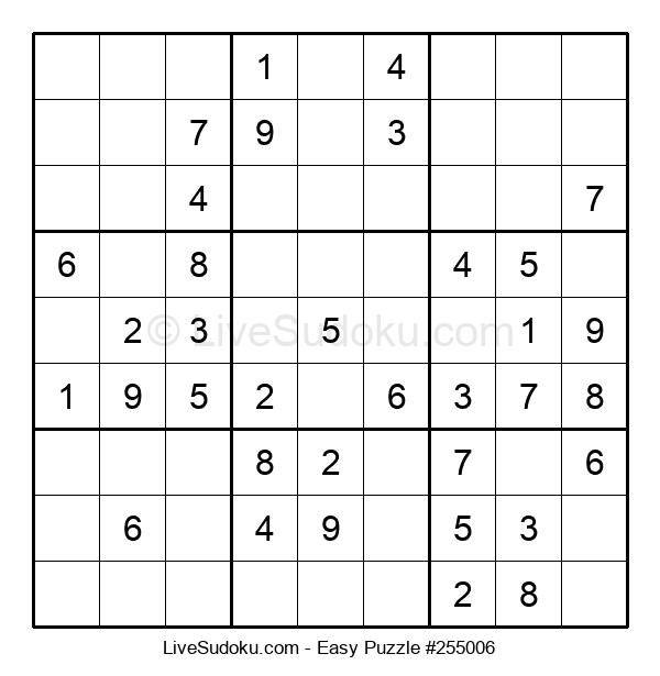 Beginners Puzzle #255006