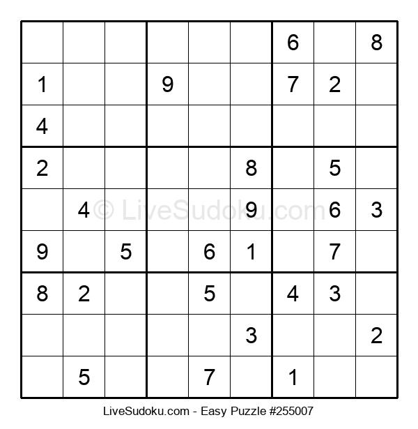Beginners Puzzle #255007