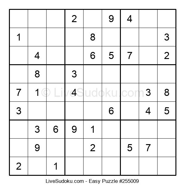 Beginners Puzzle #255009