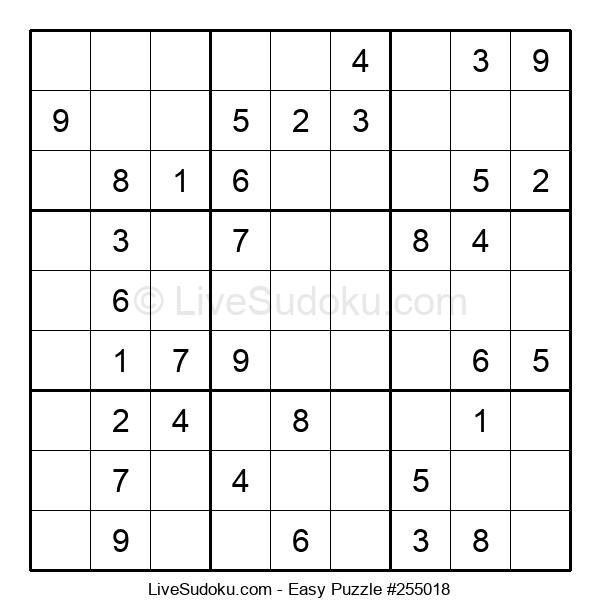 Beginners Puzzle #255018