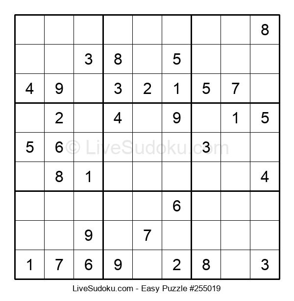 Beginners Puzzle #255019