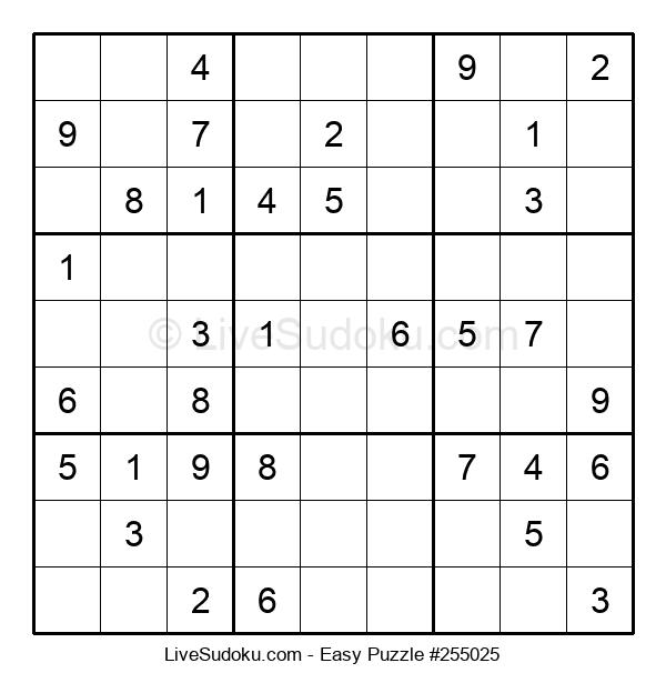 Beginners Puzzle #255025