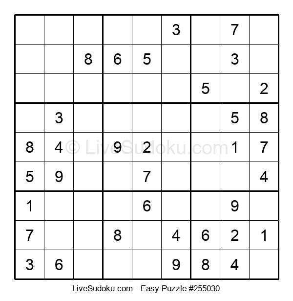 Beginners Puzzle #255030