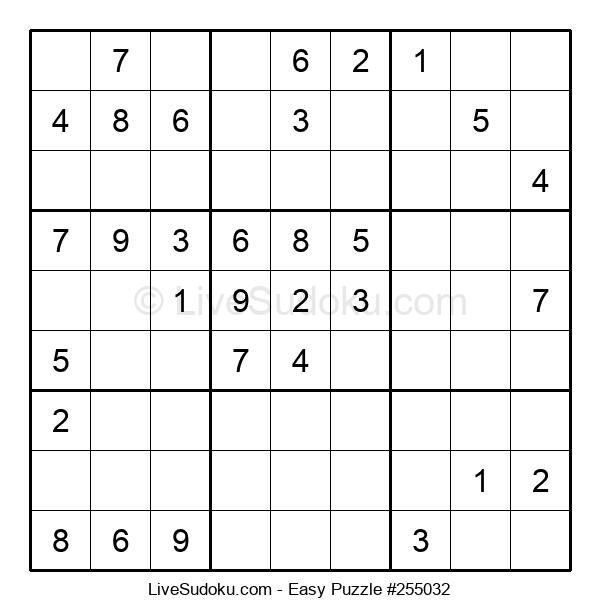 Beginners Puzzle #255032