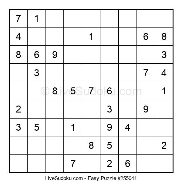 Beginners Puzzle #255041