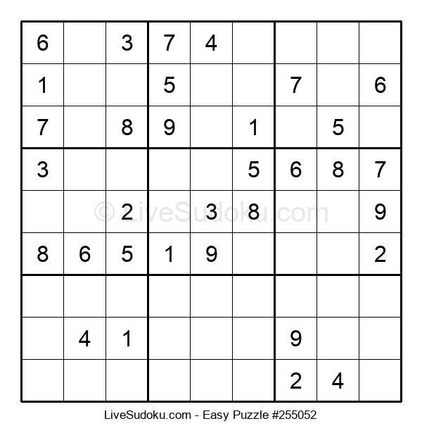 Beginners Puzzle #255052
