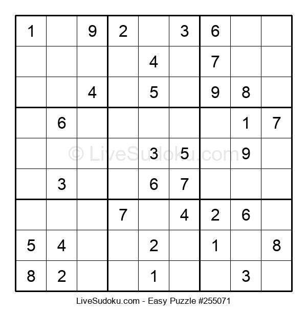 Beginners Puzzle #255071