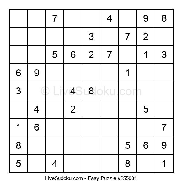 Beginners Puzzle #255081
